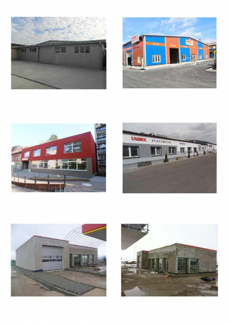 Buildings for business and services